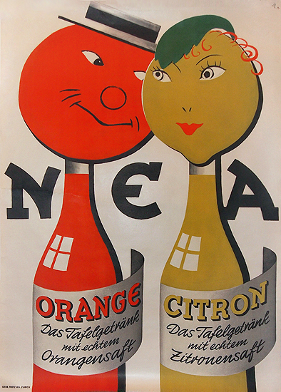 NEA  Orange and Citron