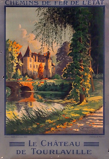 Chemin de Fer de L-Etat Le Chateau de Tourlaville