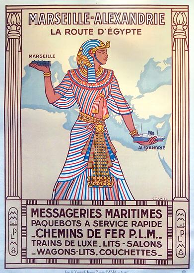 Marseille Alexandrie La Route D'Egypt