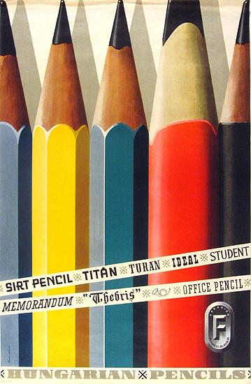 Hungarian Pencils
