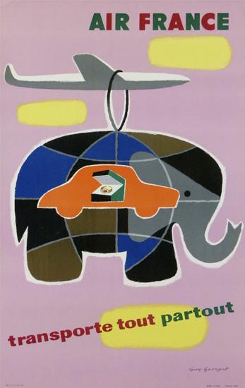 Air France Transporte Tout Partout (Cargo Elephant)