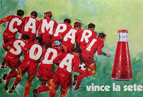 Campari Soda (Soccer Players)