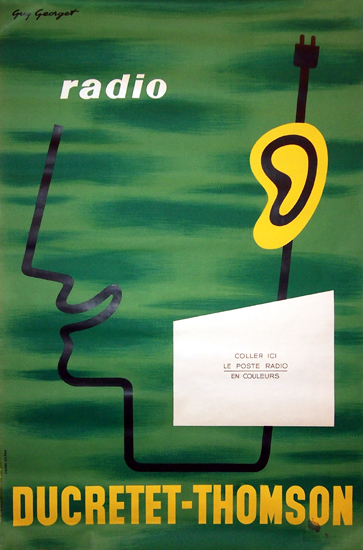 Ducretet Thomson Radio (Ear)