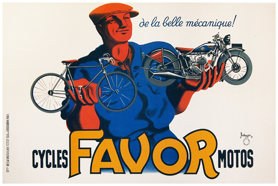 Favor Cycles/Motos (Horizontal/SMALL)