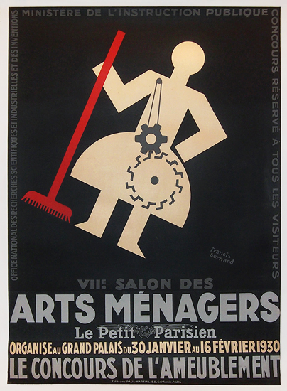 Arts Menagers (Black and White 1930/ 47x63)