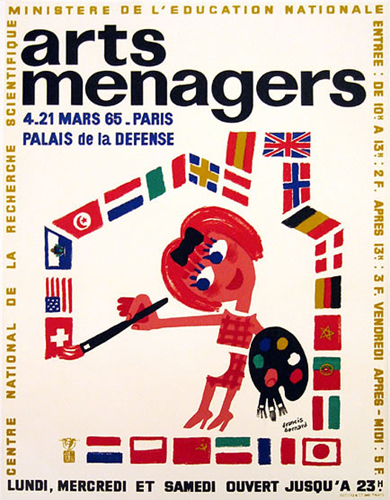 Arts Menagers 1965 (International Flags/ 15x20)