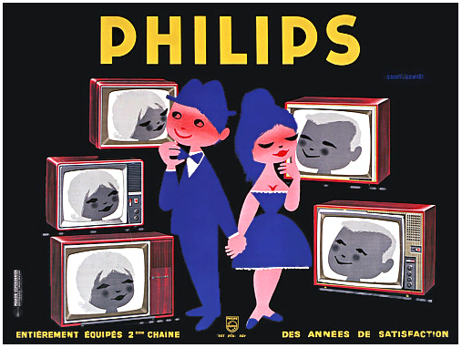 Philips Blushing TV Couple