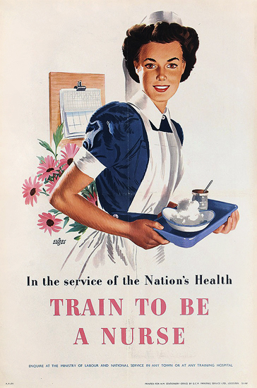 Train to be a Nurse (With Tray)