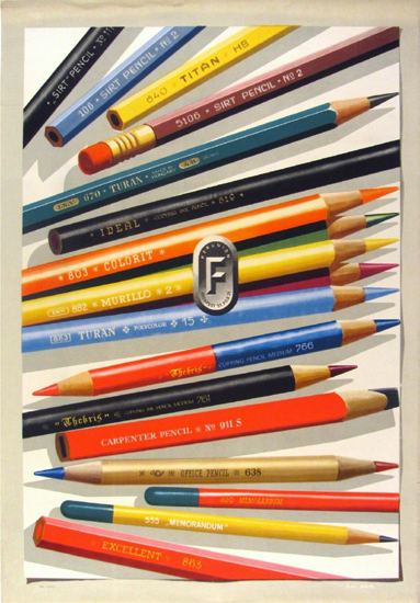 Hungarian Pencils - Ferunion Pencils