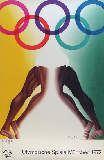 Olympische Spiele Munchen 1972/ Munich Olympics (Legs)