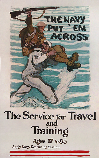 The Navy Put 'Em Across - The Service For Travel and Training