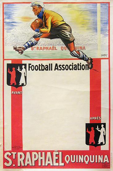 St. Raphael QuinQuina Football Association (Blank Game Schedule)