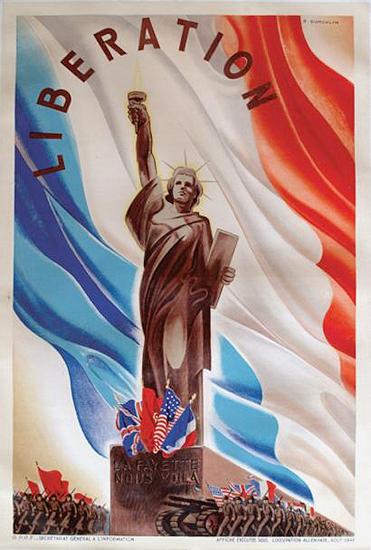 Liberation Liberation La Fayette Nous Voila