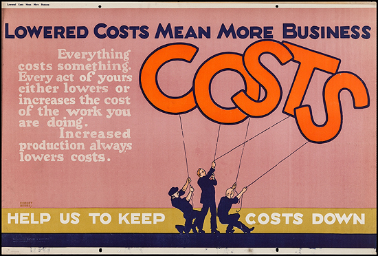Mather Motivational Poster: Costs