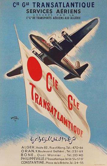 Cie Gle Transatlantique Serices Aeriens
