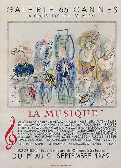 La Musique Raoul Dufy Galerie