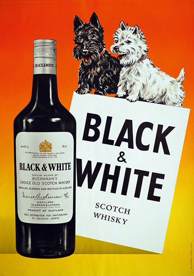 Black and White Scotch Whisky (Whiskey)