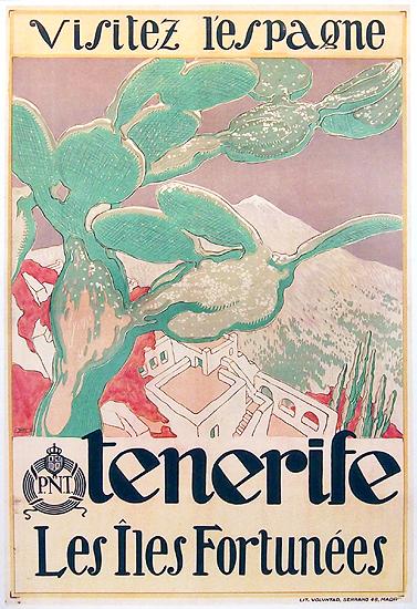 Visitez L'Espagne Tenerife Les Iles Fortunees