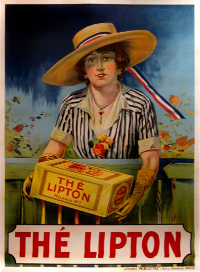 The Lipton Woman Lipton Tea