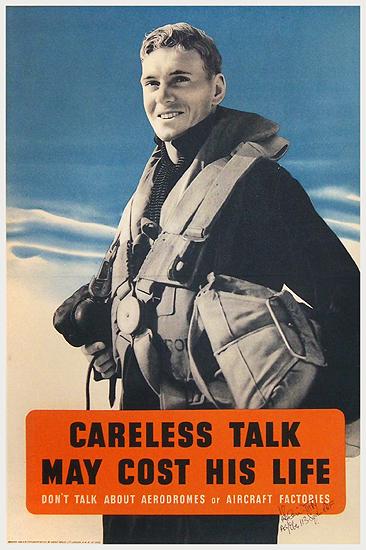 Careless Talk May Cost His Life