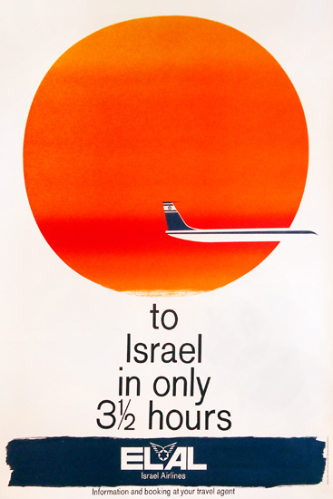 ELAL Israel Airlines (To Israel in only 3 1/2 hours)