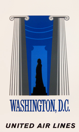United Airlines Washington DC (Silkscreen)