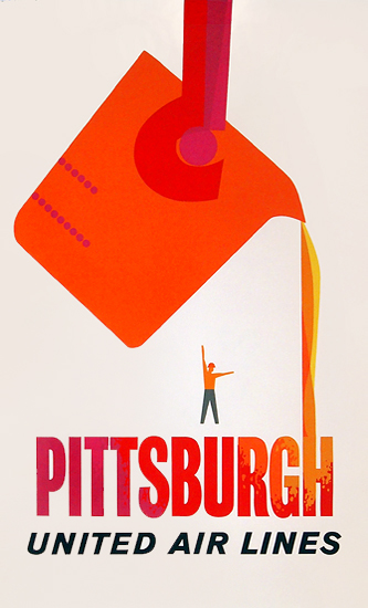 United Airlines Pittsburgh (Silkscreen)
