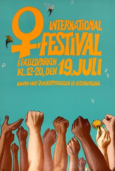 International (Women's) Festival I Faeledparken