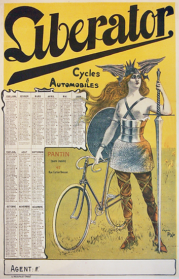 Liberator Cycles and Automobiles (Name Day Calendar)