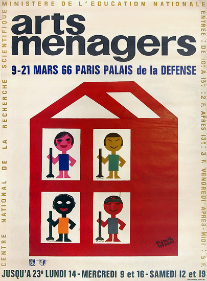 Arts Menagers (Multi-cultural House/ 47x63)
