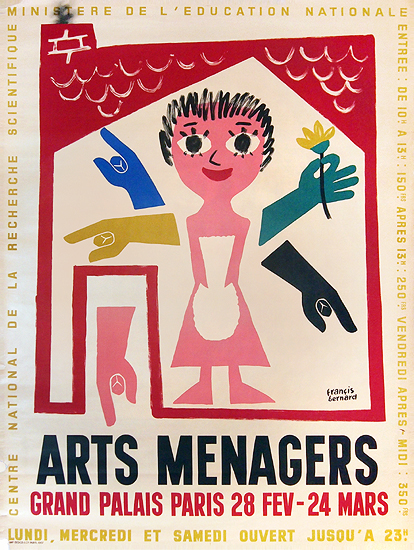 Arts Menagers (Many Arms) 47x63