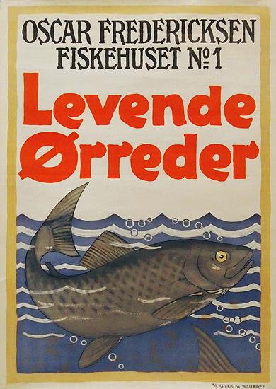 Levende Orreder  Oscar Fredricksen Fiskehuset No. 1