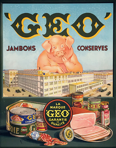 Geo Jambons Conserves