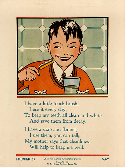 Character Culture Citizenship - Little Tooth Brush