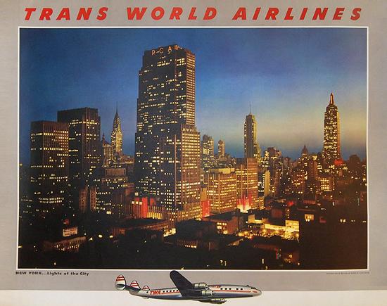 TWA New York Skyline