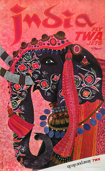 TWA India (Pink/ Up up and away)