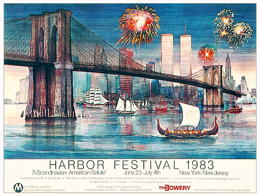 NYC Harbor Festival 1983 A Scandinavian American Salute (Small)