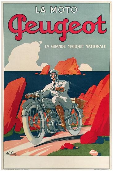 La Moto Peugeot (Red Rocks)