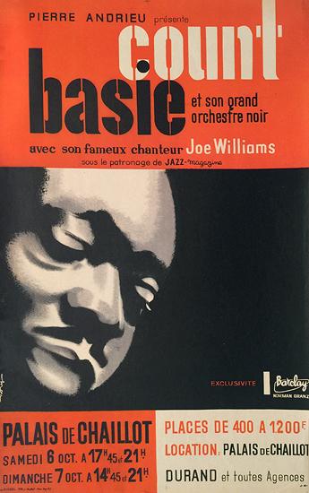 Count Basie Palais de Chaillot