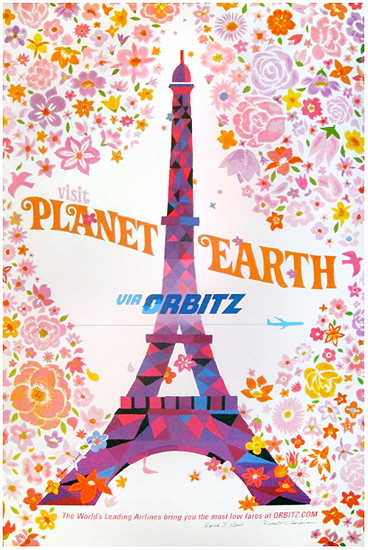 Orbitz Visit Planet Earth (Eiffel Tower/Paris)
