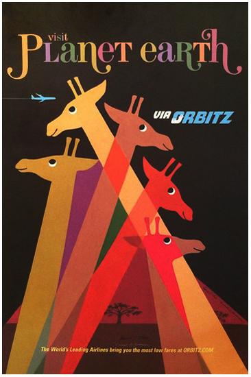 Orbitz Visit Planet Earth (Giraffes)