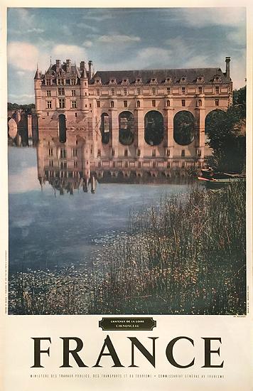 France Chenonceau (Chateaux de Le Loire)
