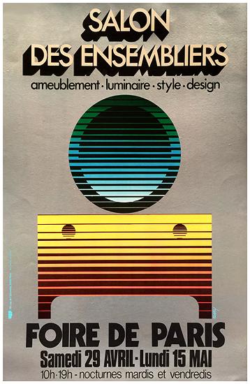 Chisholm poster salon des ensembliers foire de paris - Salon de jardin foire de paris ...
