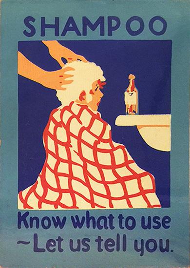 Pharmacy Card: Shampoo (Small)