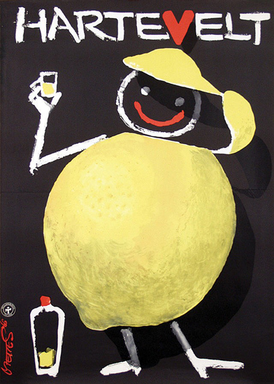 Hartevelt Citron (Chalk Drawing)