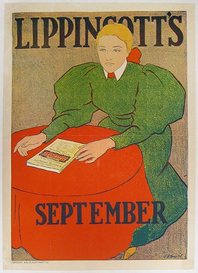 Lippincott's - September (Table Scene)