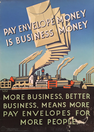 Pay Envelope Money Is Business Money (Think American)