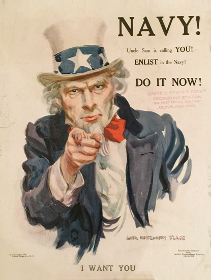 Navy! Uncle Sam Is Calling You!