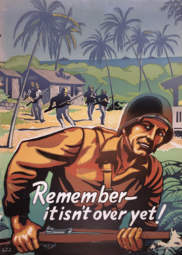 Remember It Isn't Over Yet! (Think American)