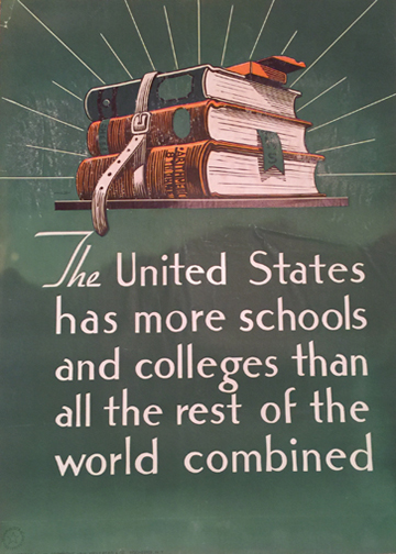 More Schools Than the World Combined (Think American)